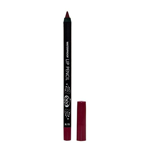 Waterproof Lip Pencil No 15