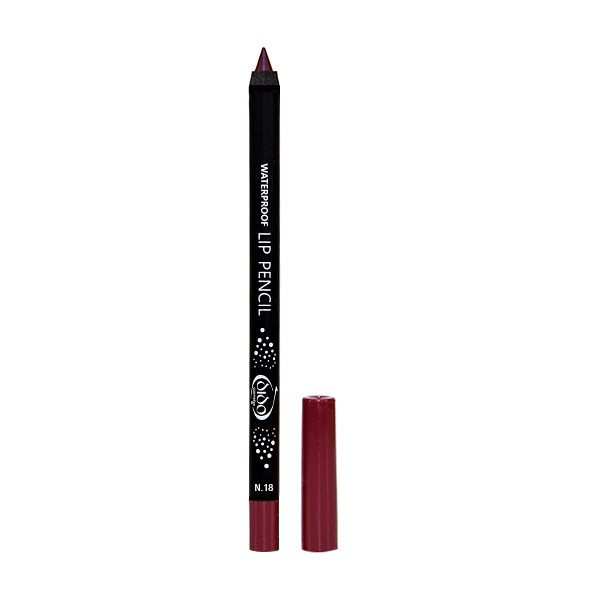 Waterproof Lip Pencil No 18