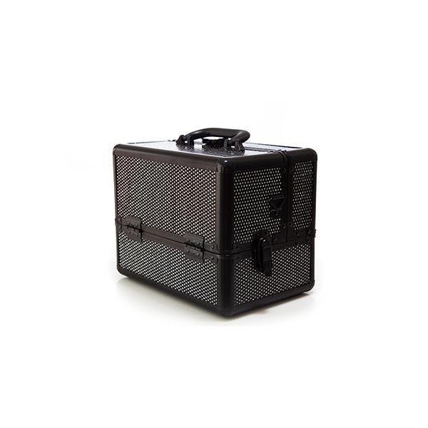 Βαλιτσάκι Χειρός TC-1432R Black Glitter