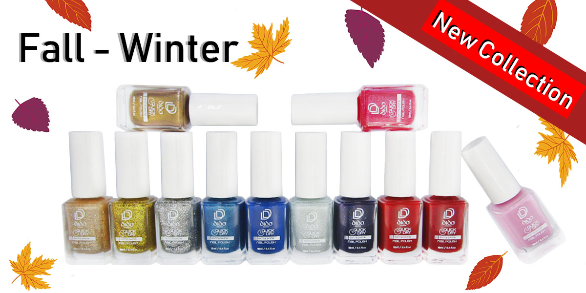Fall - Winter Collection Nail Lacquers