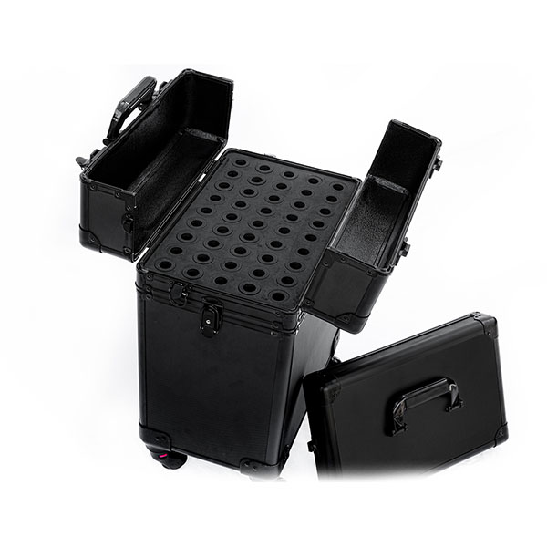 Βαλίτσα με 4 ρόδες για ημιμόνιμα TC-3345R Black