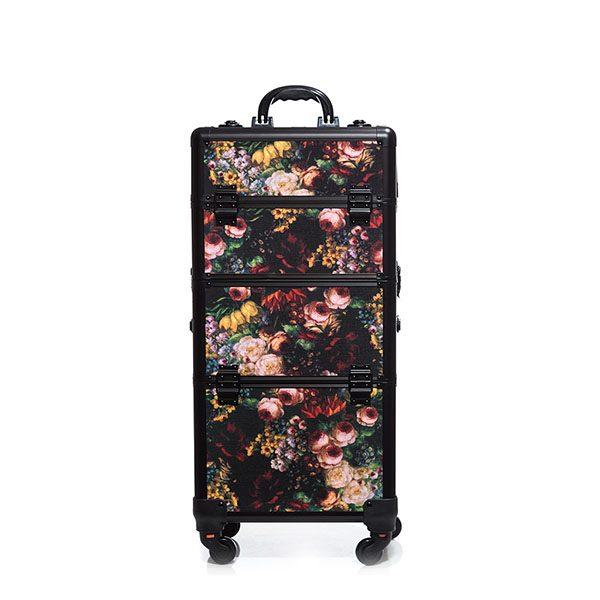 Βαλίτσα με 4 ρόδες TC-3360R Floral