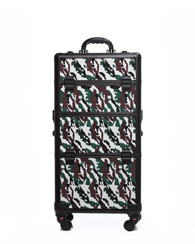 Βαλίτσα με 4 ρόδες TC-3360R Forest Camouflage #2