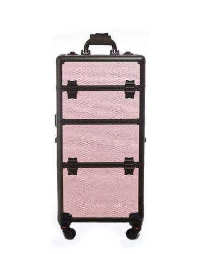 Βαλίτσα Με 4 Ρόδες TC-3360R Pink Glitter