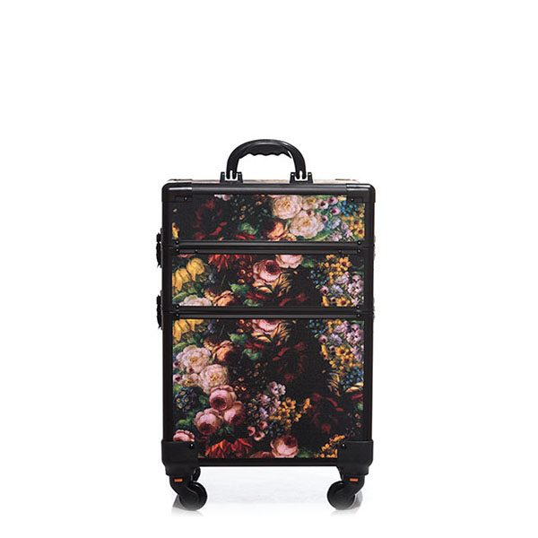 Βαλίτσα με 4 ρόδες TC-3362R Floral