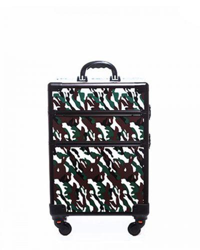 Βαλίτσα με 4 ρόδες TC-3362R Forest Camouflage #2