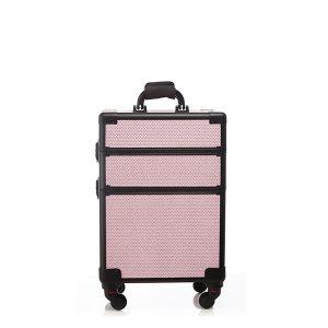 Βαλίτσα με 4 ρόδες TC-3362R Pink Glitter