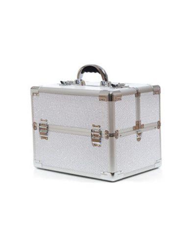 Βαλιτσάκι Χειρός TC-3363R White Glitter