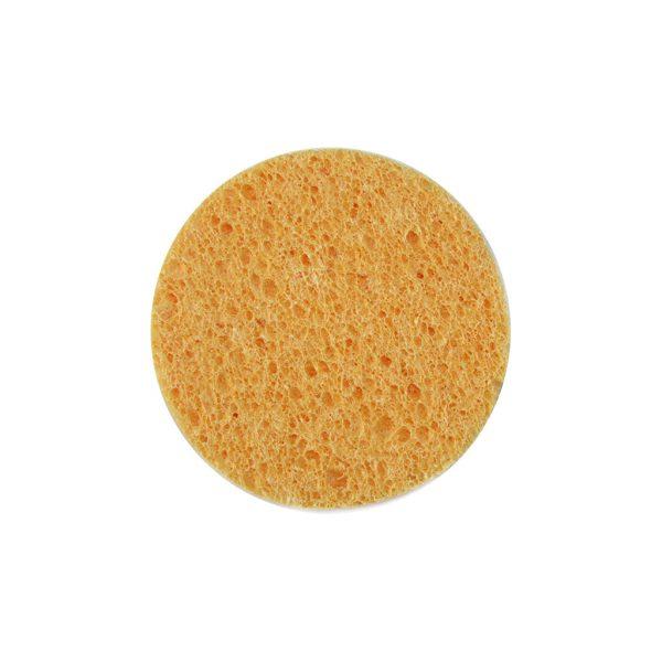 Σφουγγαράκι καθαρισμού προσώπου Κίτρινο