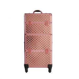 Βαλίτσα με 4 ρόδες TC-3360R Rose Gold