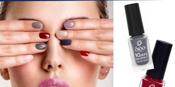Δωρο Βερνίκι 10 Days Gel Effect by Dido Cosmetics στο Forma Νοεμβρίου