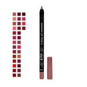 Waterproof Lip Pencil Colors