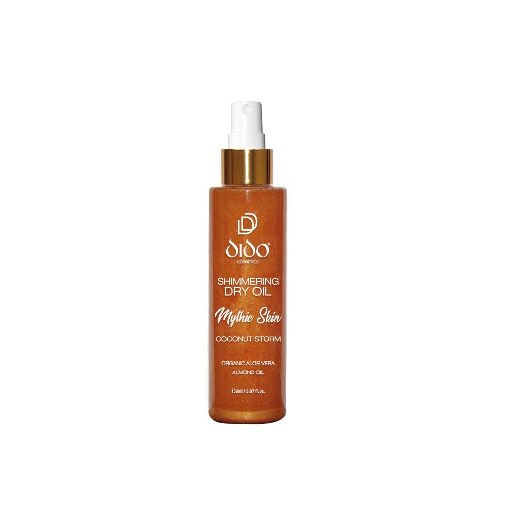 Mythic Skin Shimmering Dry Oil Coconut Storm